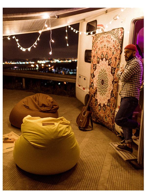 客户惊呼:懒人沙发luckysac太空豆袋让我成功来了一次深度睡眠!