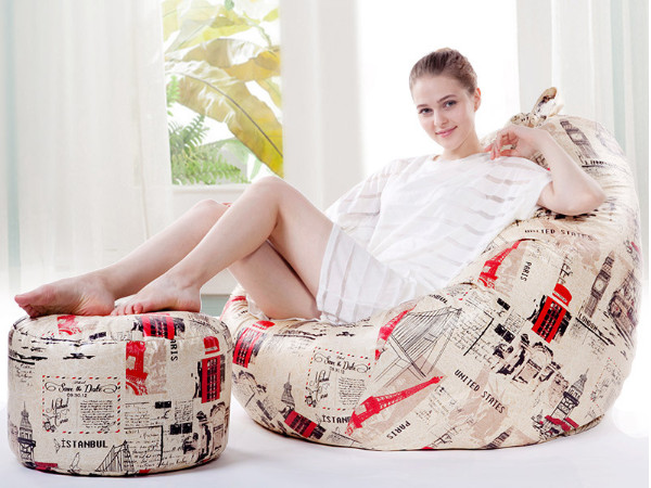 豆袋奢华型懒人沙发