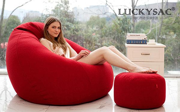 尚都家居luckyac懒人沙发产品品质好秘密原来在这里
