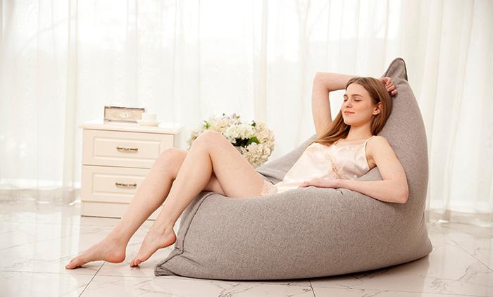 创意懒人沙发的正确保养和清洗