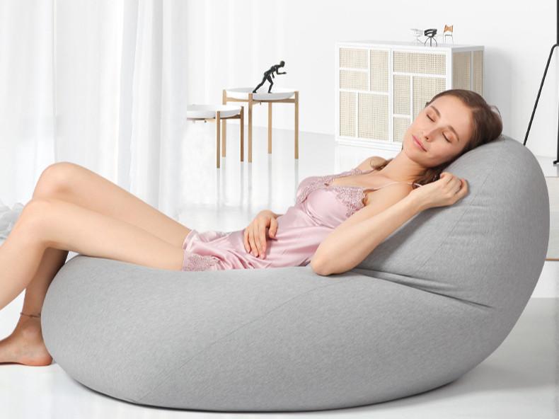 太空豆袋懒人沙发午休床