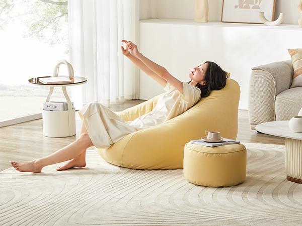足球豆袋懒人沙发