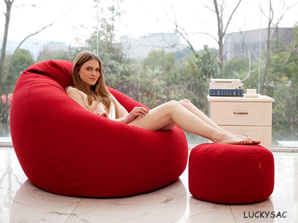 让设计师来告诉你如何避免懒人沙发塌陷,延长使用寿命?