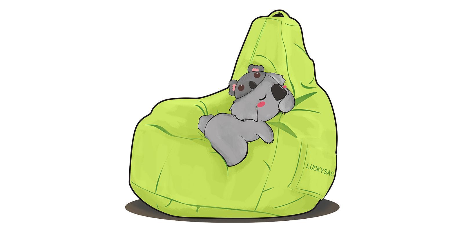 家装小课堂:小户型和懒人沙发更配哟~