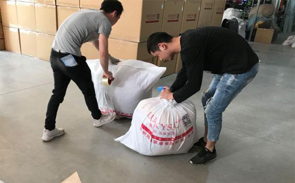 两天出货900件懒人沙发 这家杭州家具厂实力说话 有(图)为证