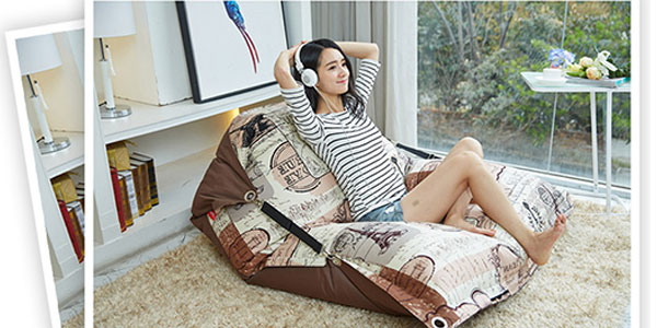 为什么懒人沙发采购选择尚都家居luckysac懒人沙发并不会贵?